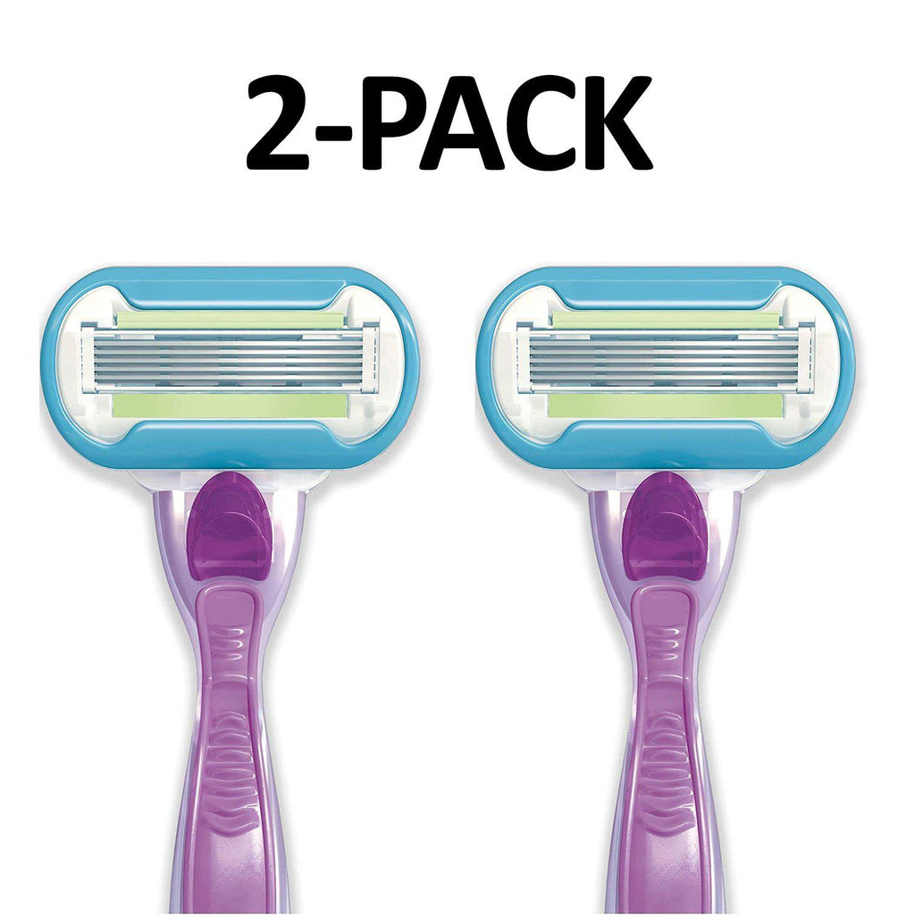 Daily Steals-Gillette Venus Embrace Razor with 1 Refill Blade - 2 Pack-Health and Beauty-