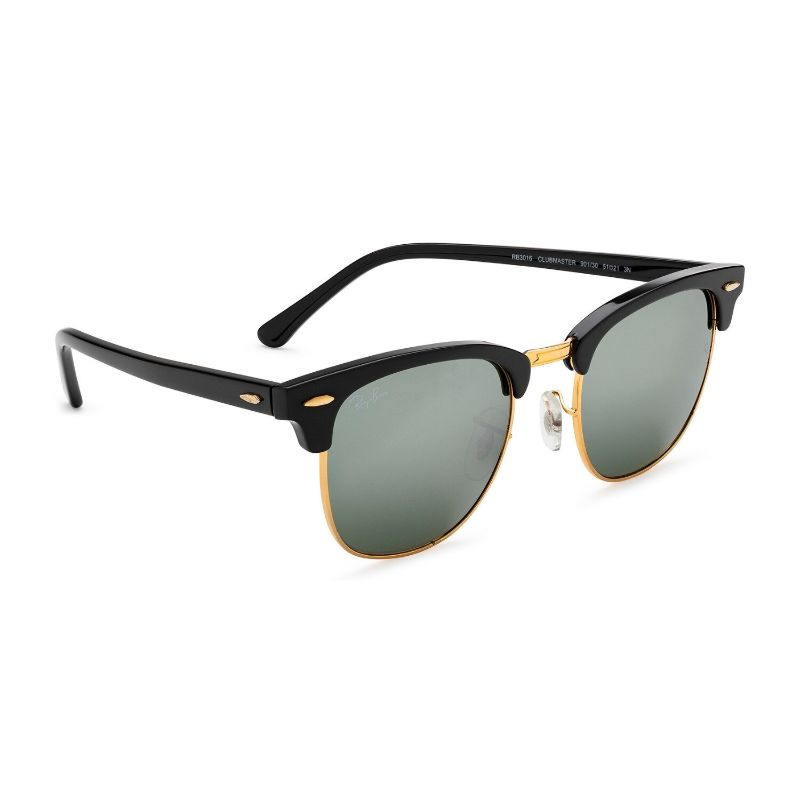 Ray-Ban RB3016 901/30 49mm Clubmaster Unisex Sunglasses-Daily Steals