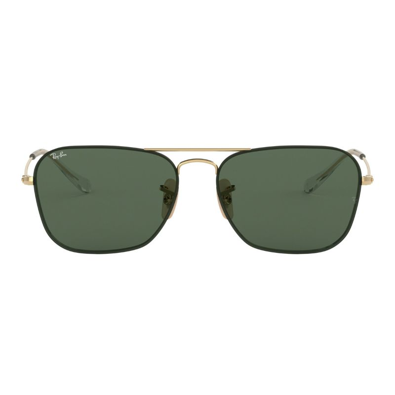 Ray-Ban Sunglasses RB3603 001/71 56MM Gold G15 Genuine PlasticLens Caravan-Daily Steals