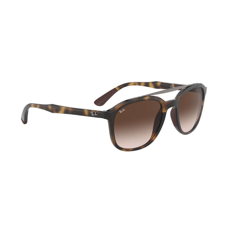 Ray Ban Brown Gradient Square Sunglasses RB4290 710/13 53-Daily Steals
