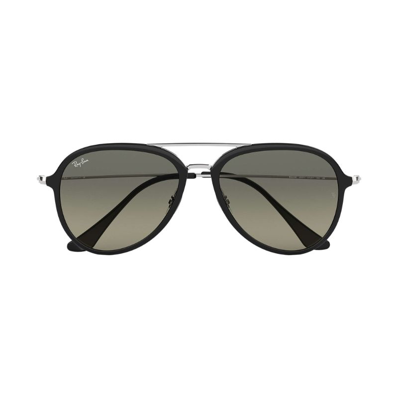 Ray Ban RB4298-601/71-57 Black Silver / Grey Gradient 57mm Sunglasses-Daily Steals