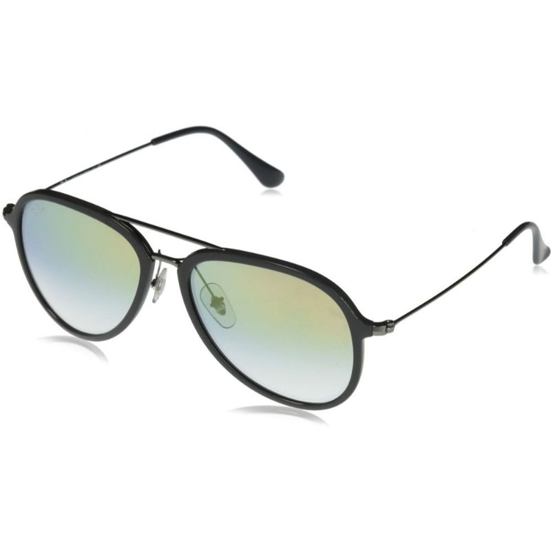 Ray-Ban Pilot Sunglasses RB4298 6333Y0 57 Grey Gold Gradient Lenses-Daily Steals
