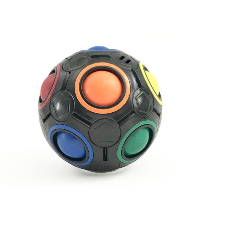 Rubik's Rainbow Ball-Black-Daily Steals