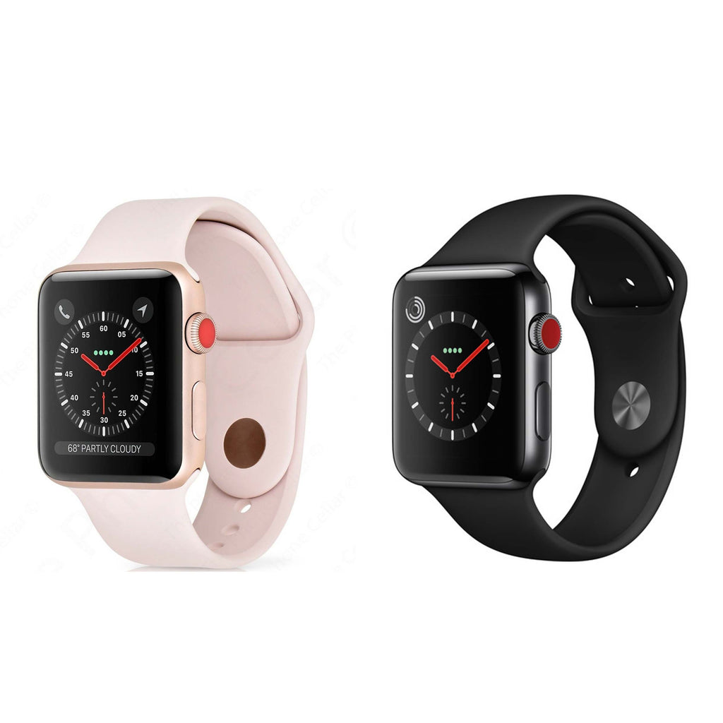 Apple Watch Series 3 Smartwatch (GPS + Cellular)-Daily Steals