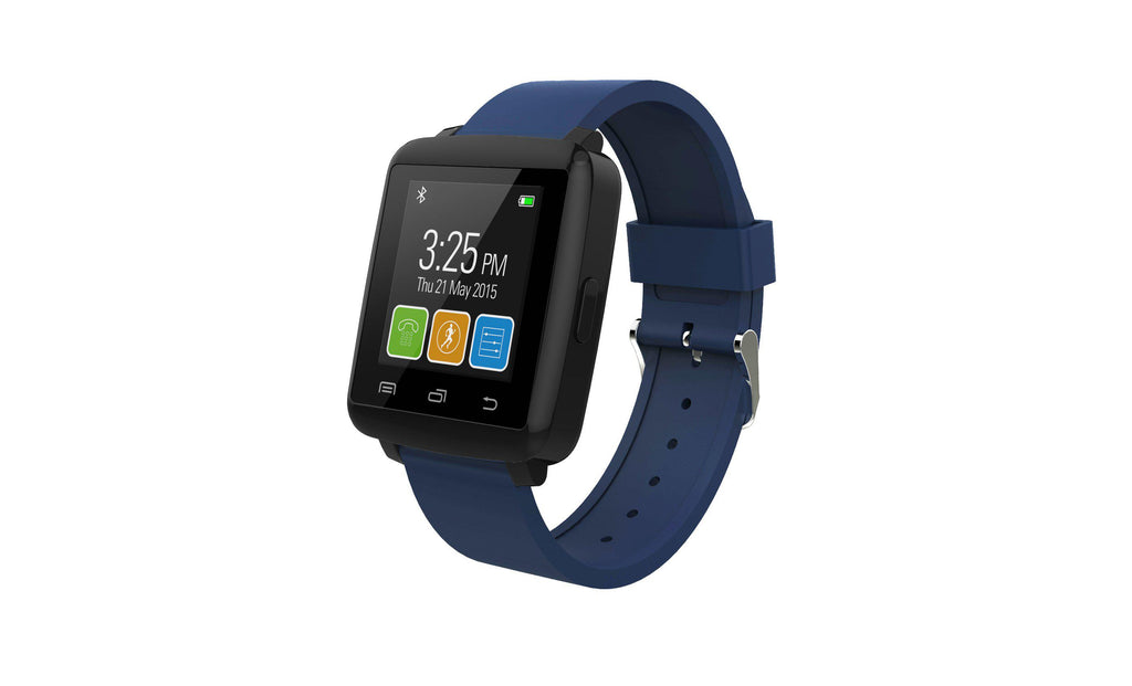 RBX Active Smartwatch Fitness Tracker-Navy Blue-Daily Steals