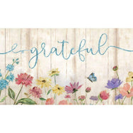 "Cushioned 20"" x 30"" Anti-Fatigue Kitchen Mats-Grateful Floral Wood-Daily Steals"