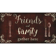 "Cushioned 20"" x 30"" Anti-Fatigue Kitchen Mats-Friends Family-Daily Steals"