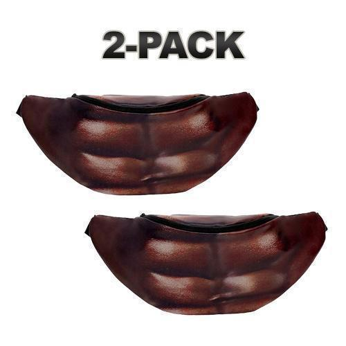 Daily Steals-Realistic-Looking Belly Bag - Carries All Your Essentials-Accessories-Dark Skin-2 pack-
