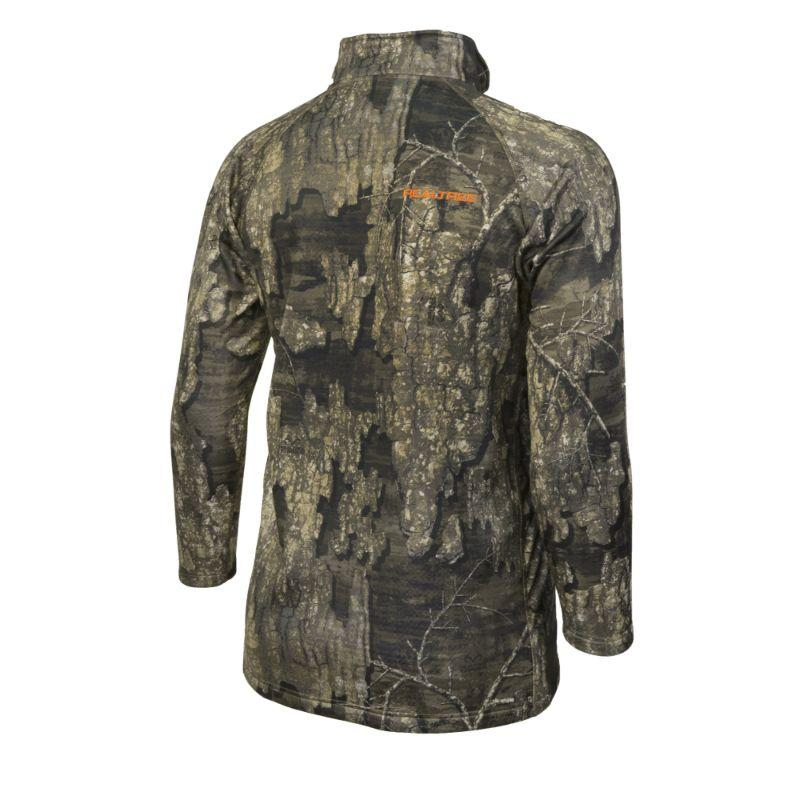 Realtree Camo Weather Resistant 1/4 Zip Pull Over Hunting Shirt by Hyde Gear-Daily Steals