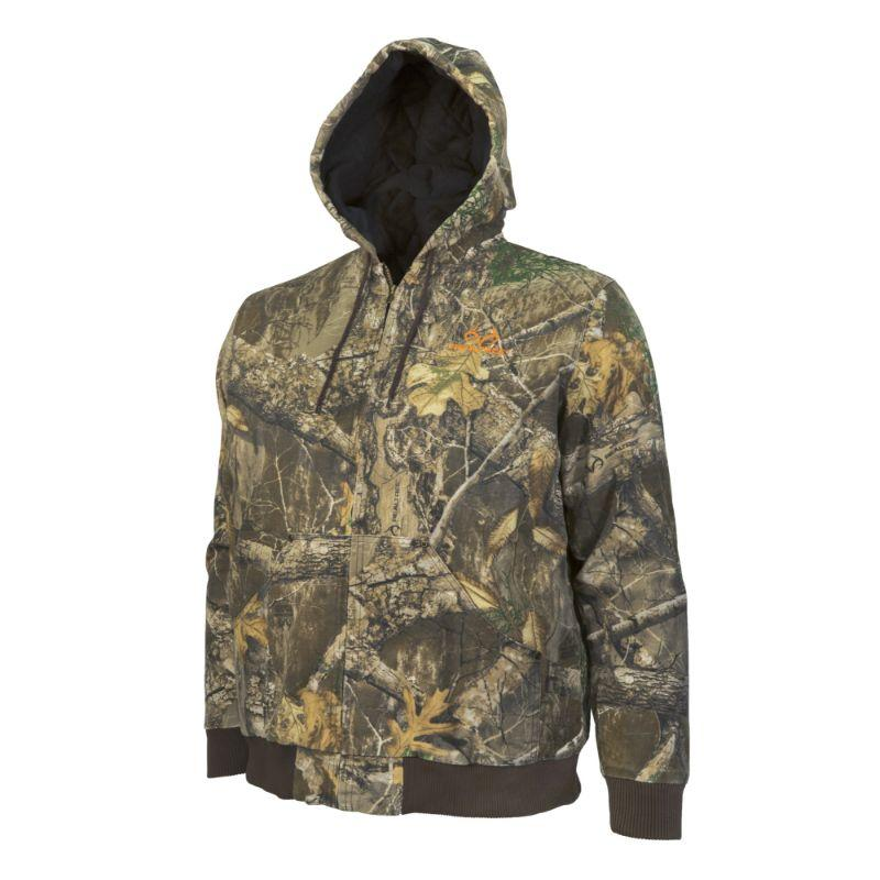 Realtree Insulated Heavy Weight Camo Bomber Jacket by Hyde Gear-L-Daily Steals