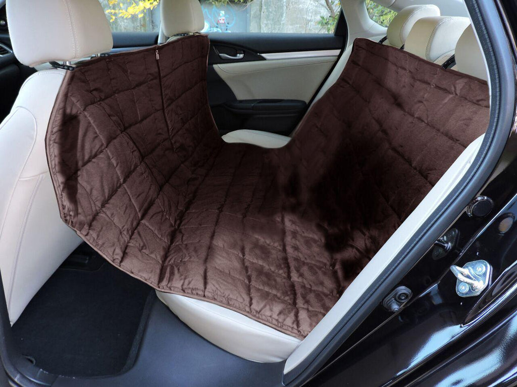 Waterproof Hammock-Style Pet Car Seat Protector-Brown-Daily Steals