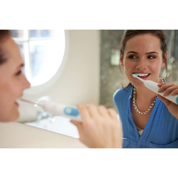 Philips Sonicare Series 2 Plaque Control Teal Rechargeable Electric Toothbrush-Daily Steals