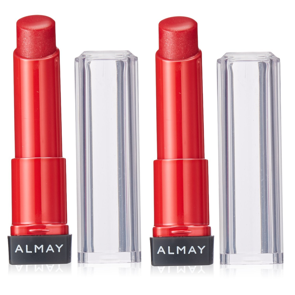 [2-Pack] Almay Smart Shade Butter Kiss Lipstick-80 Red - Light/Medium-Daily Steals
