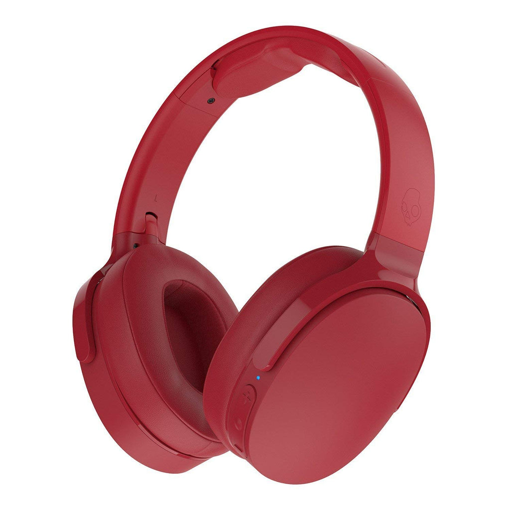Skullcandy Hesh 3 Wireless Bluetooth Over-Ear Headphones-Red-Daily Steals