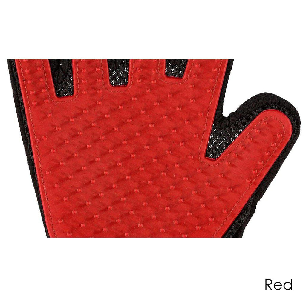 Ez-Pet Grooming Glove (1-Pair)-Red-Daily Steals