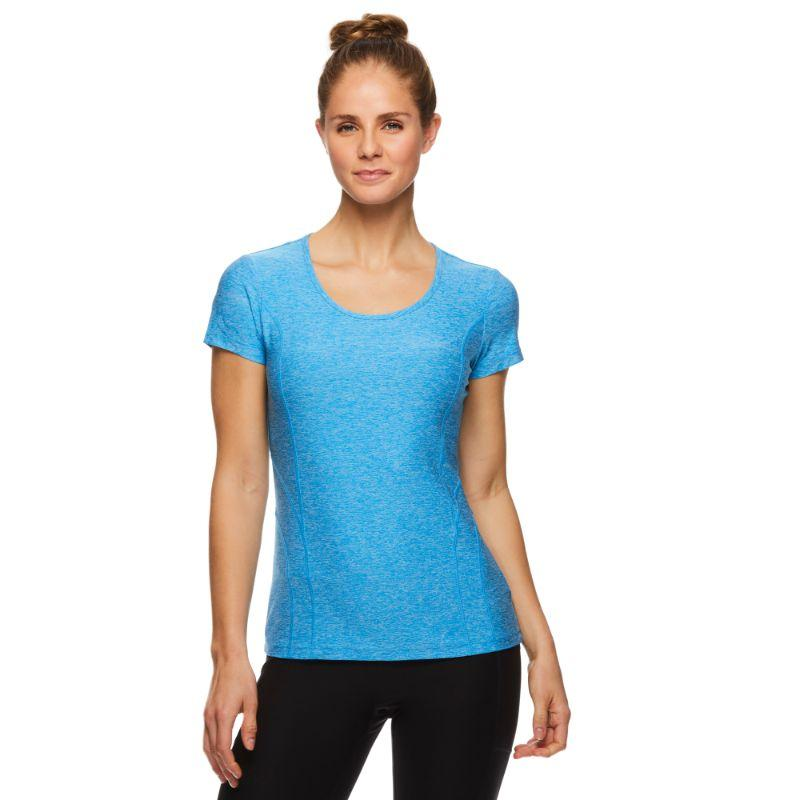 Reebok T-shirt Performance Fitted pour Femme - Blithe Heather-S-Daily Steals