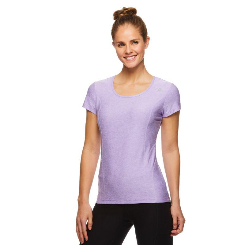 Reebok T-shirt Performance Femme ajusté - Bougainvillier Heather-L-Daily Steals