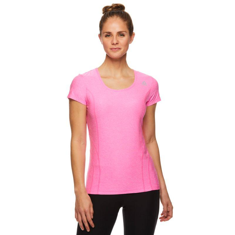 Reebok Tee shirt Performance Femme - Ultra Rose Heather-L-Daily Steals