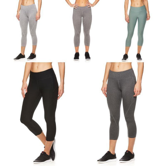Reebok Women's Quick-Dry Capri Leggings-Daily Steals