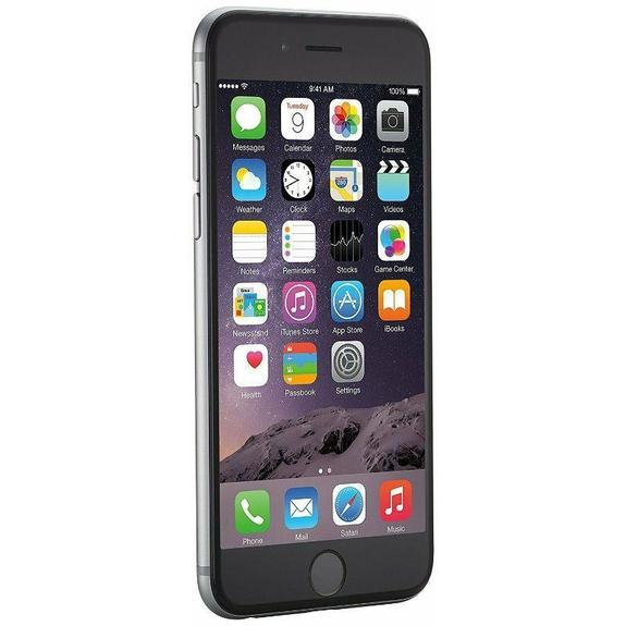 Refurbished Apple iPhone 6 16GB Factory Unlocked GSM Smartphone - Space Grey (Refurbished)-
