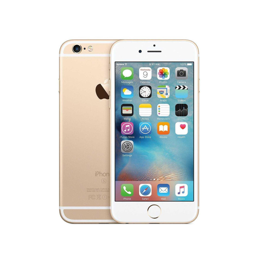 Refurbished Apple iPhone 6S 64GB (GSM & Verizon Unlocked) (Refurbished)-Gold-