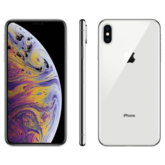 Refurbished Apple iPhone XS AT&T Smartphone (Refurbished)-Silver-64GB-
