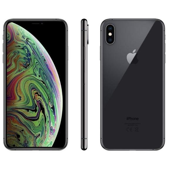 Renoverad Apple iPhone XS AT&T Smartphone (Renoverad) -Space Grey-64GB-