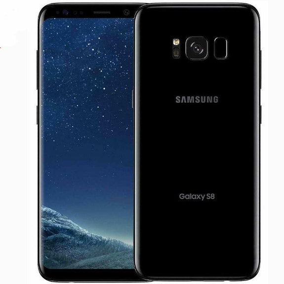 Refurbished Samsung Galaxy S8 64GB Smartphone - Factory Unlocked; Verizon / AT&T / Global-Black-Daily Steals