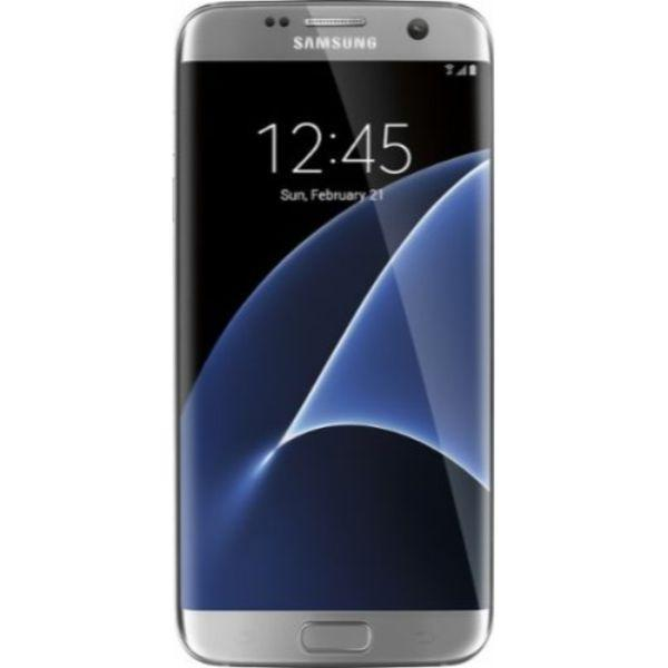 Samsung Galaxy S7 Edge GSM Unlocked Smartphone - 32GB (4 Colors)-Silver-Daily Steals