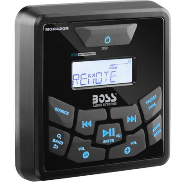 Daily Steals-Remote for MGR420B, w/ Bluetooth By Boss Audio-Marine-