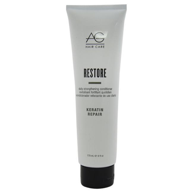 Daily Steals-Restore Daily Strengthening Conditioner by AG Hair Cosmetics for Unisex - 6 oz Conditioner-Personal Care-