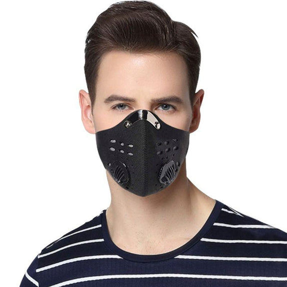 Reusable Dust Proof Mask With 3 Filters - 1, 2, 4, 8, and 20 Pack-Daily Steals