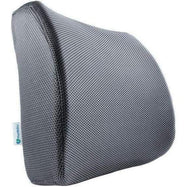 PharMeDoc Lumbar Support Pillow - Adjustable Memory Foam Seat Cushion-Gray-Daily Steals