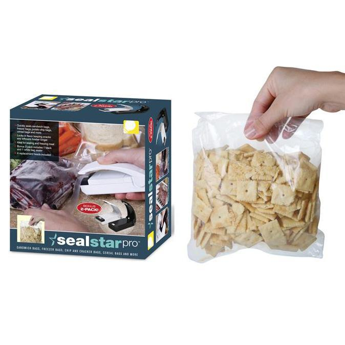Seal Star Pro Bag Sealers - 2 Pack-Daily Steals