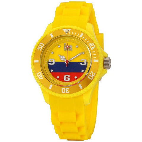 Daily Steals-Ice World Colombia Multi-Color Dial Silicone Strap Unisex Watch WO.CO.S.S.12 - 40mm-Accessories-