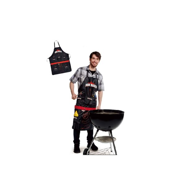 BBQ Boss Apron With Multi Pockets & Bottle Opener-Daily Steals