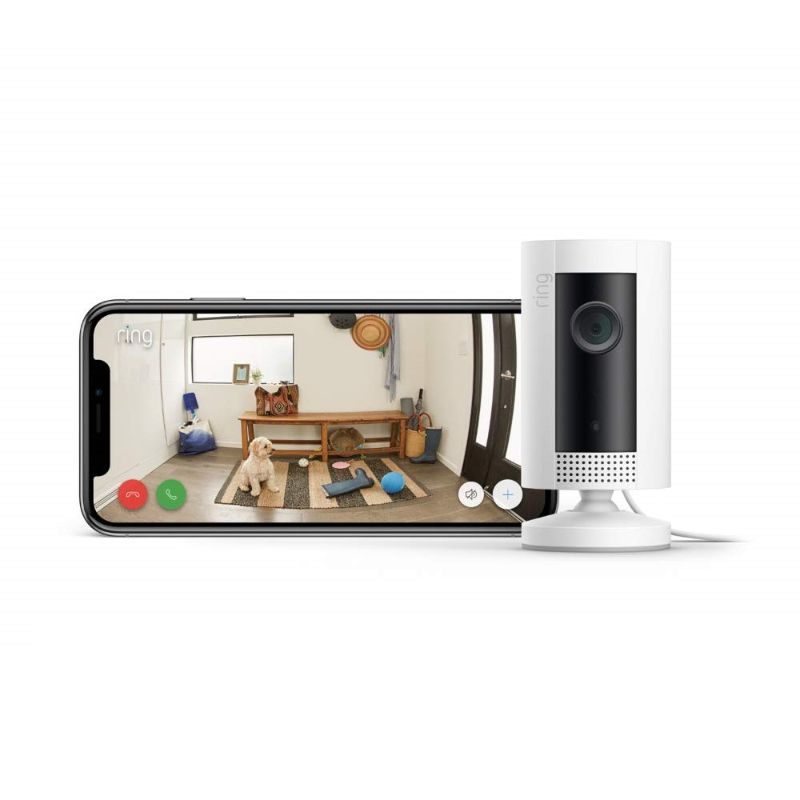Ring Indoor Cam HD Security Camera with Two-Way Talk - 2 Pack-Daily Steals