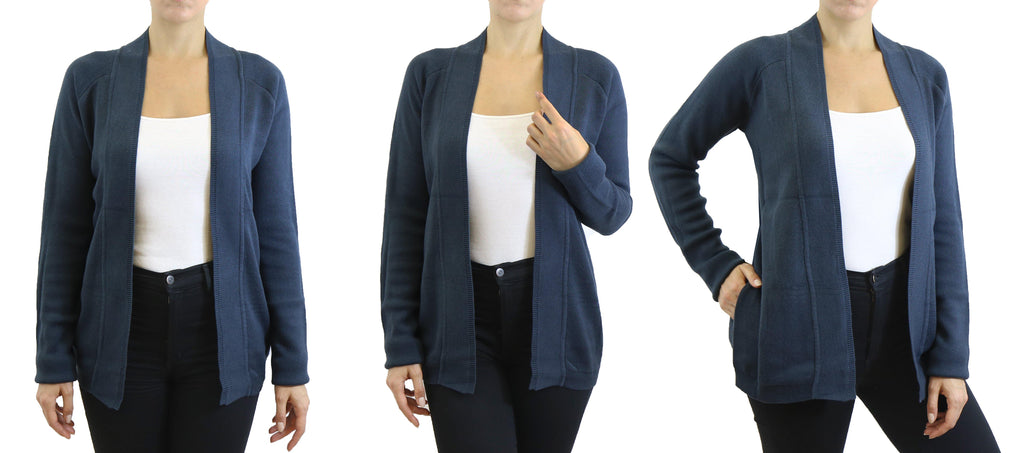 Pull cardigan épais pour femmes-Shadow-Small-Daily Steals