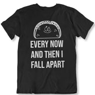 Taco Eclipse of The Heart, de temps en temps je m'effondre T-Shirt-Noir-2XL-Daily Steals