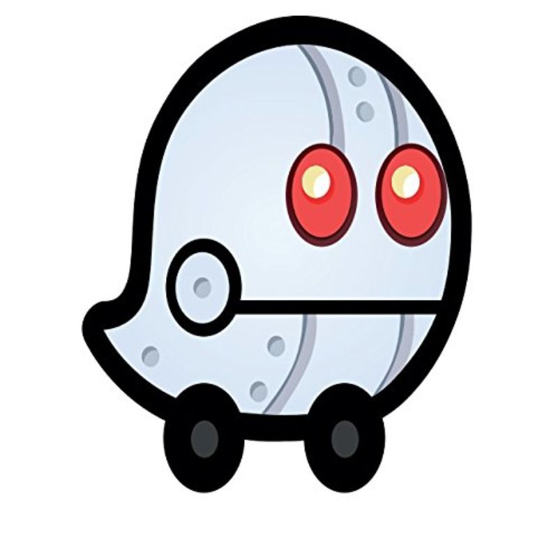 "StickyWaze 6"" Magnetic Vinyl Decal - 2 Pack-ROBOT-Daily Steals"