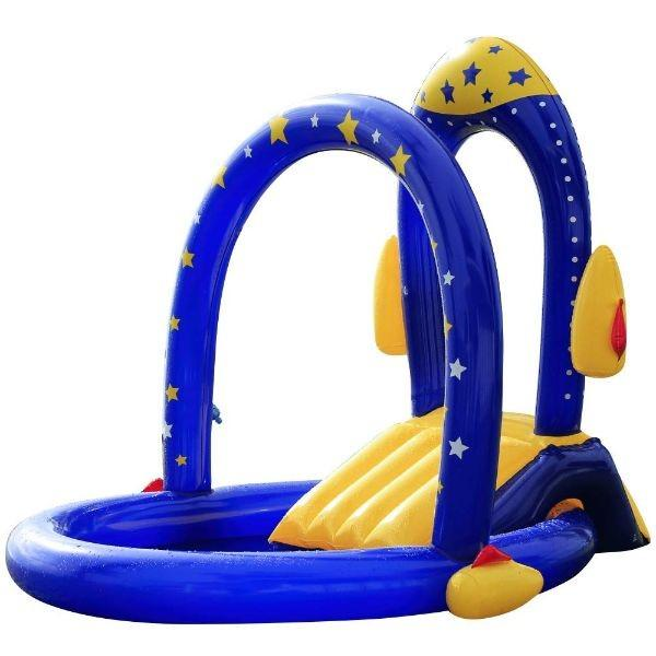 Daily Steals-Rocket Pool with Water Slide-Outdoors and Tactical-