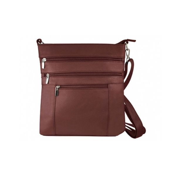 update alt-text with template Daily Steals-Roma Serena Crossbody Bag - 3 Colors-Women's Accessories-Brown-
