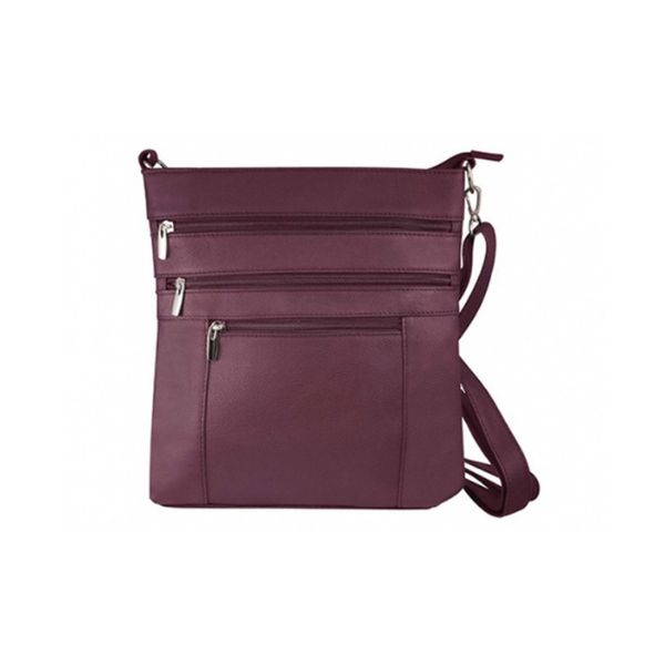 update alt-text with template Daily Steals-Roma Serena Crossbody Bag - 3 Colors-Women's Accessories-Wine-