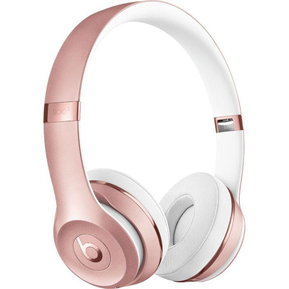 Beats Solo3 Club Collection Wireless On-Ear Headphones-Rose Gold-Daily Steals