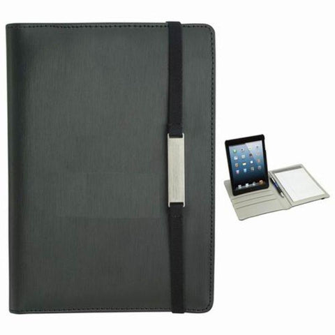 Rotating Case Tech Padfolio For Mini 5.5×8 Tablet With Writing Pad-