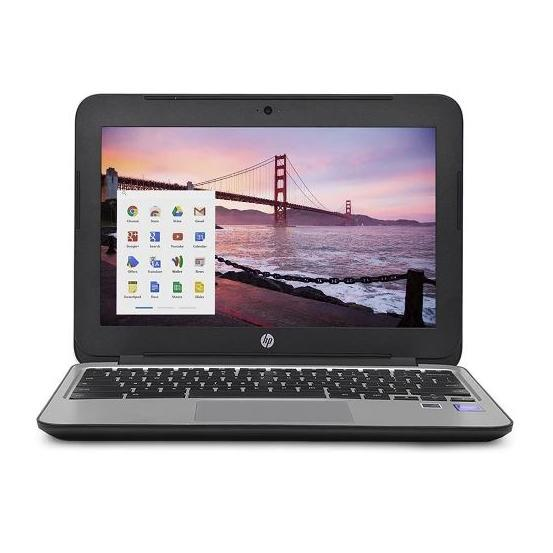 "Daily Steals-HP Chromebook 11 G3 11.6"" Chromebook Laptop Intel Celeron Dual Core 4GB 16GB SSD-Laptops-"