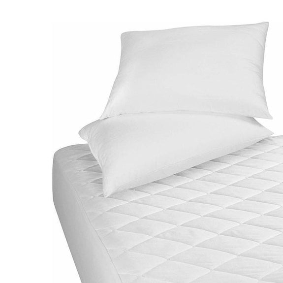 Ultra Soft Quilted Hypoallergenic Mattress Pad Protector-Full-Daily Steals