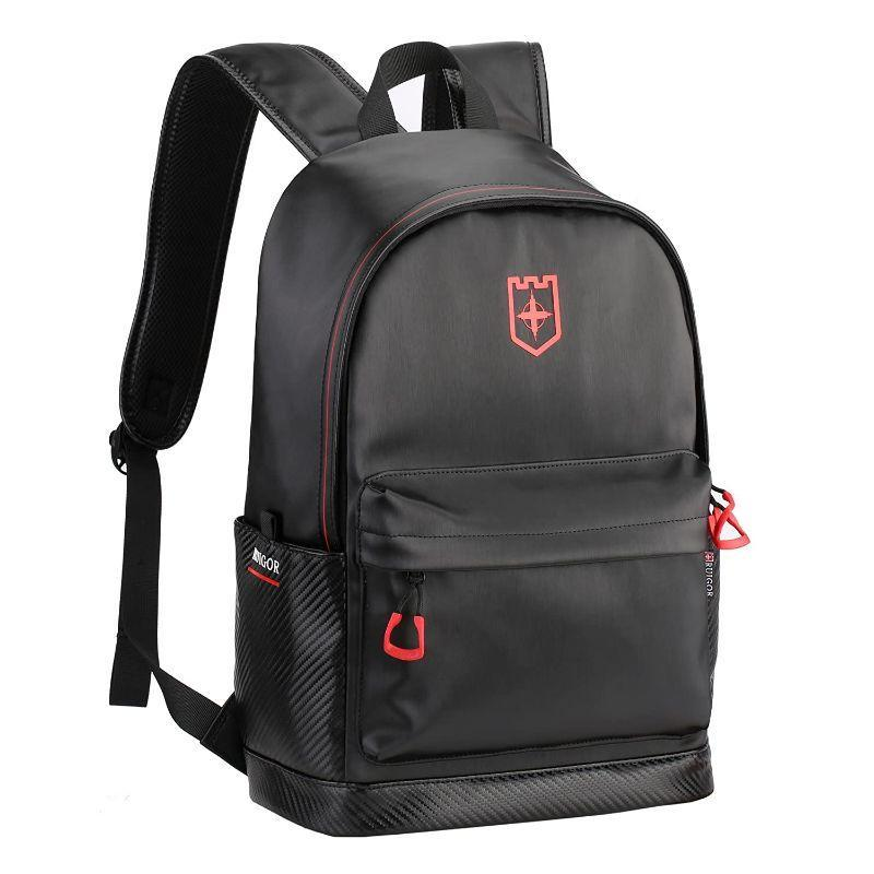 "Ruigor City 11 Rgb6411 Black and Red Water Resistant Backpack, Fits Laptops up to 15.6""-"
