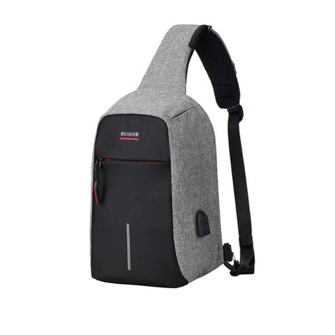 update alt-text with template Daily Steals-Ruigor RGY6444 Shoulder Bag, Link 44, Gray-Travel-