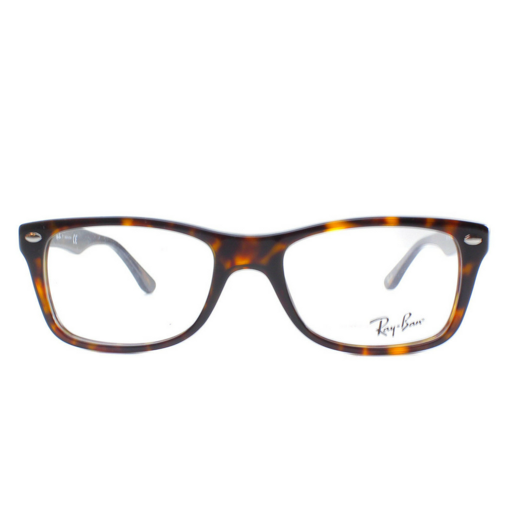 Ray-Ban Eyeglasses RX5228 2012 Dark Havana Plastic Frame 50mm-Daily Steals